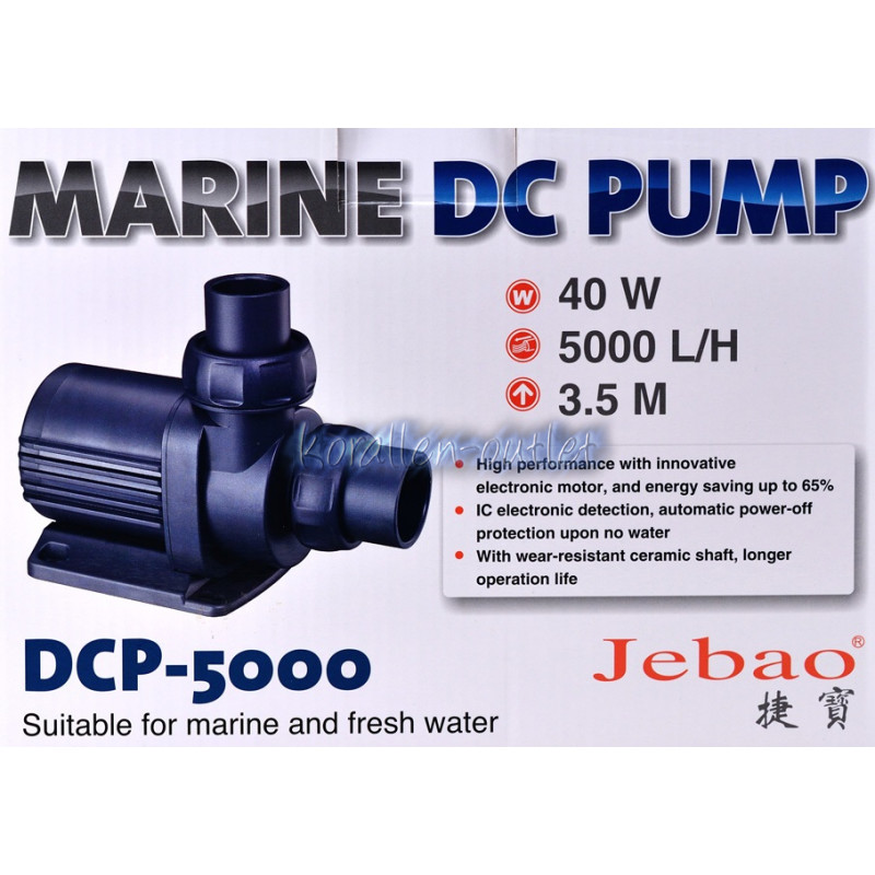 Jebao Brushless DC Pump DCP-5000