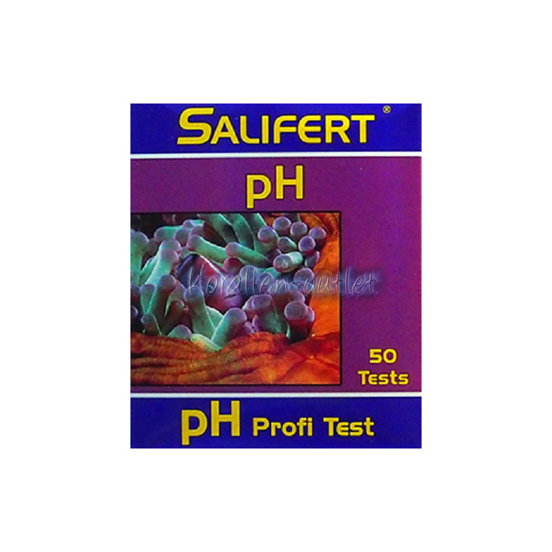 Salifert ph Test Meerwasser