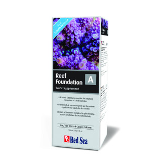 Red Sea Reef Foundation A (Ca/Sr/Ba) 500ml