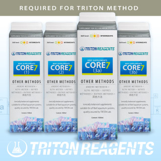 Triton SET Core7 Reef Supplements 4000ml für andere Methoden